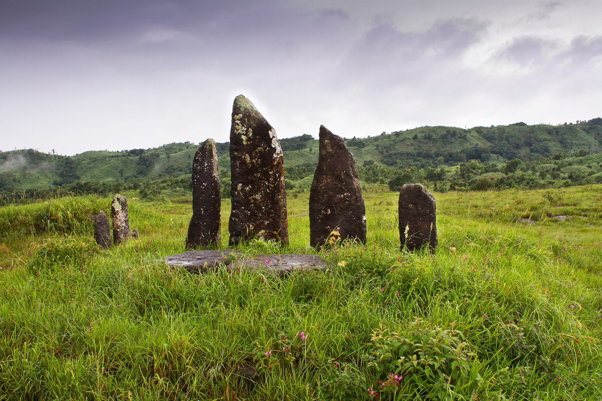 Monoliths in Pynursla