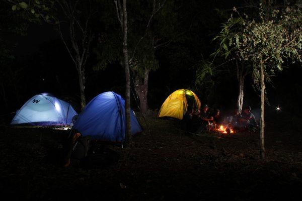 Camping in Meghalaya