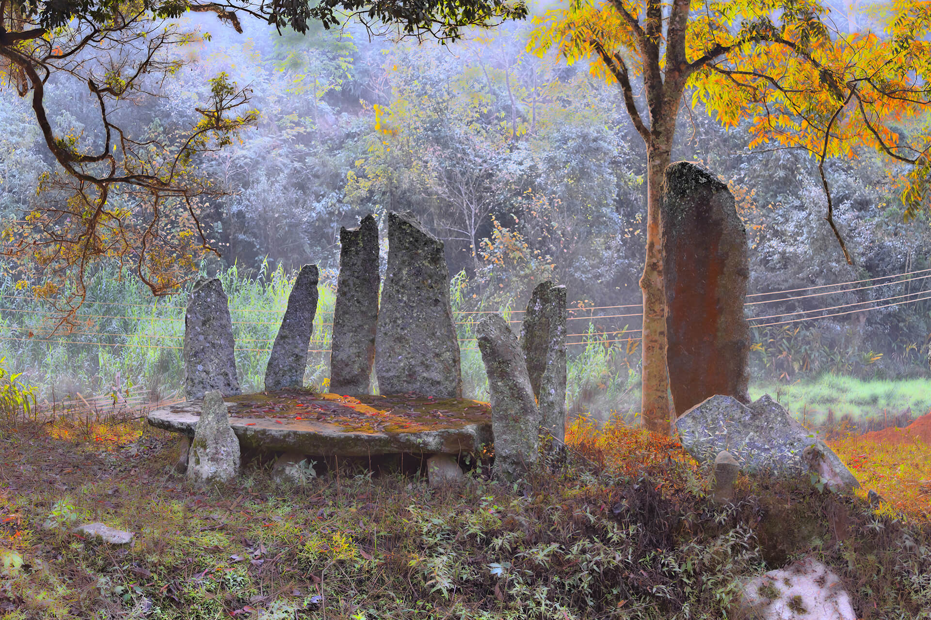 Nartiang Monoliths