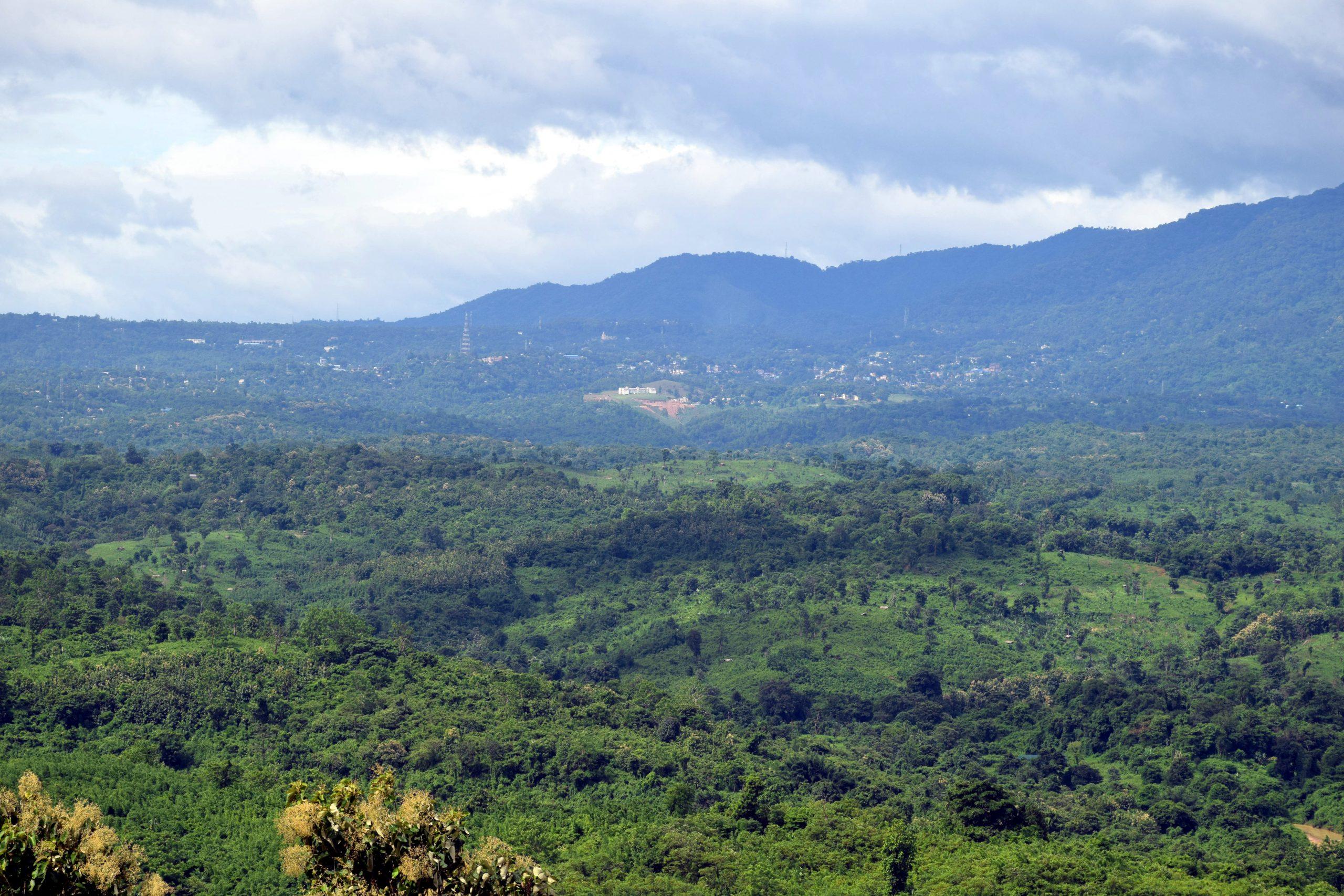Tura Town and Peak