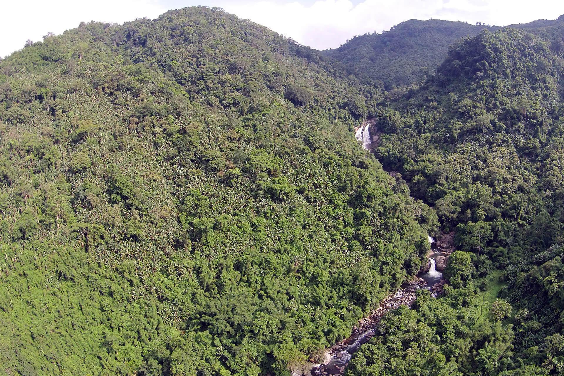 Rongbangdare Falls