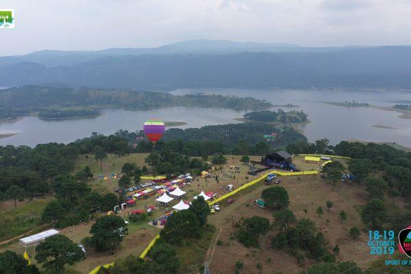 Hot Air Balloon at The Hills Festival